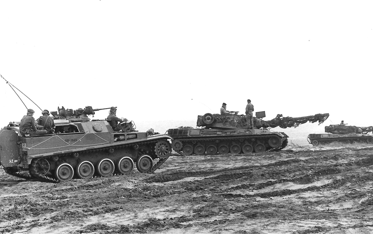 oefening West Duitsland