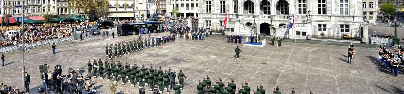 erewacht bezoek Turkse president aan Maastricht