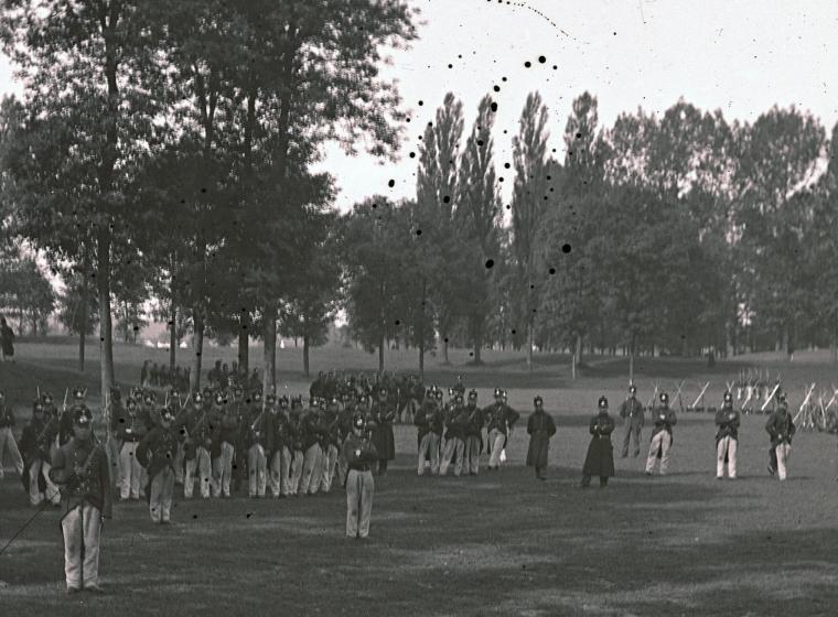 Oefenen In Maastricht in de zgn Kommen