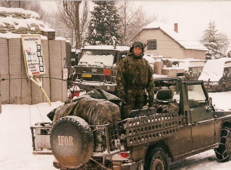 Patrouille tijdens IFOR