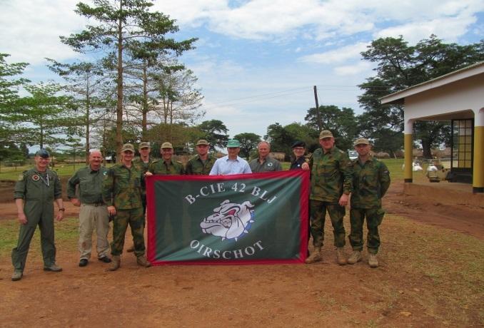 Limburgse Jagers in Oeganda