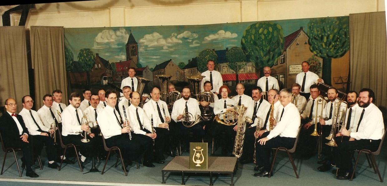 Reünieorkest kort na de oprichting in Pey Echt